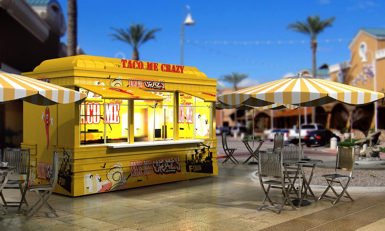 Street Food Kiosks | Food Hall Environment Design, Manufacture